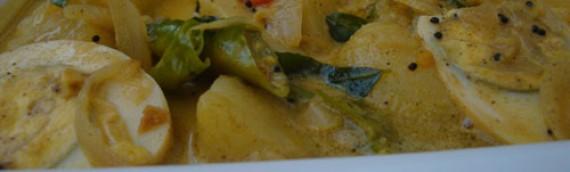 Egg and Potato Curry/ Mutta Palu Curry