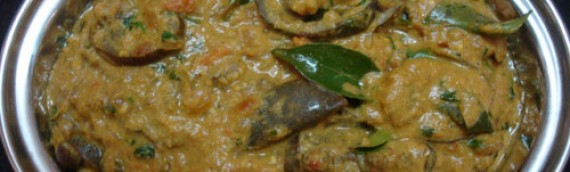 Brinjal Curry/ Eggplant Curry