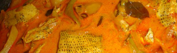 Karimeen Curry/Fish Curry with Pearl Spot