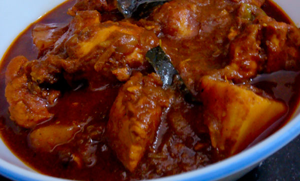 Soya Sauce Chicken Curry | Salt and Spice