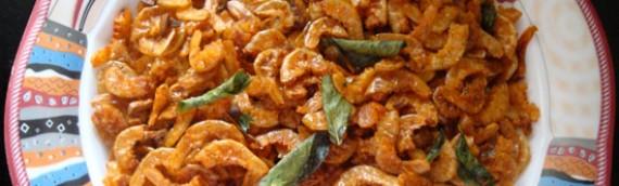 Dried Prawns Fry/ Unakka Chemmeen Varuthathu