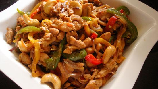 calorieen wok met kip
