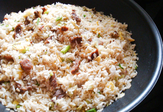 Beef Fried Rice | Salt and Spice