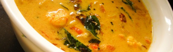 Prawns and Tomato Curry