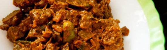 Liver Varattiyathu / Liver Stir Fry