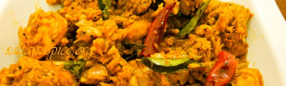 Chicken Thoran / Kozhi Thoran