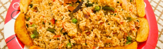 Vegetable Pulao with Soya Sauce