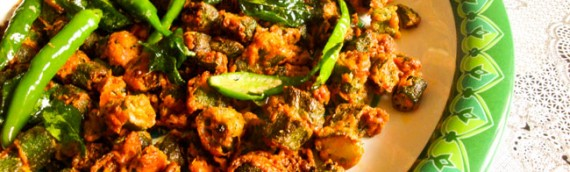 Kurkuri Bhindi / Crispy Fried Lady's Finger