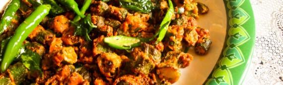 Kurkuri Bhindi / Crispy Fried Lady's Finger