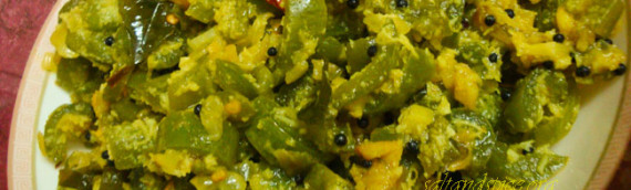 Snake Gourd And Coconut Stir Fry / Padavalanga Thoran