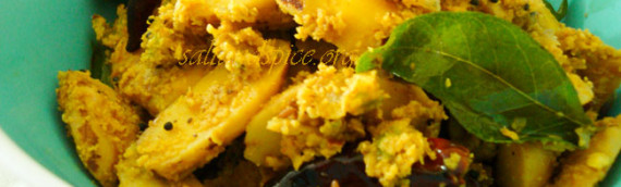 Chakkakuru Thoran / Jackfruit Seeds and Coconut Stir Fry