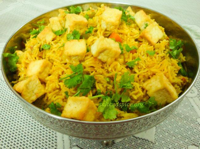 tofu-pulao