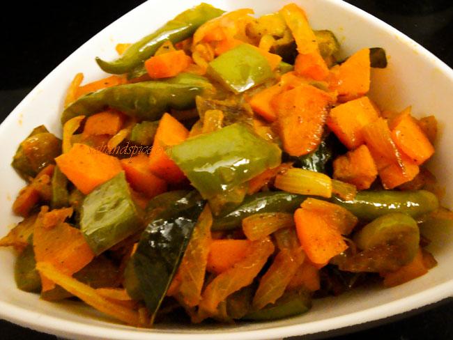 carrot-capsicum-subzi-1