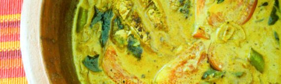 Mathi Mappas / Fried Sardines Curry with Coconut Milk