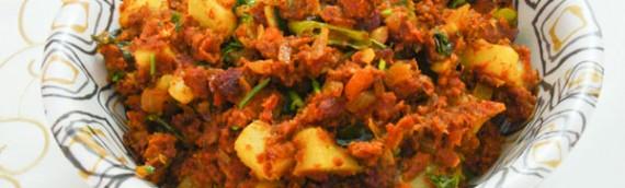 Corned Beef And Potato Stir Fry