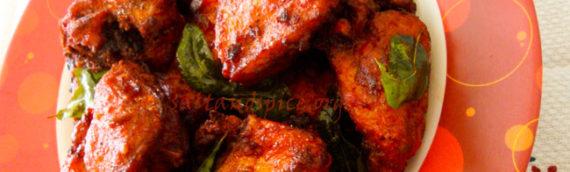 Fried Chicken Kabab